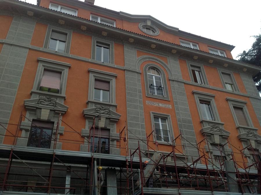 LAVORI DI MANUTENZIONE ORDINARIA DELLE FACCIATE E DEL LASTRICO DI COPERTURA DELLO STABILE SITO IN ROMA.