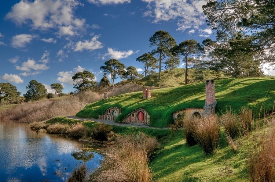 le casette hobbit sono tra le più visitate
