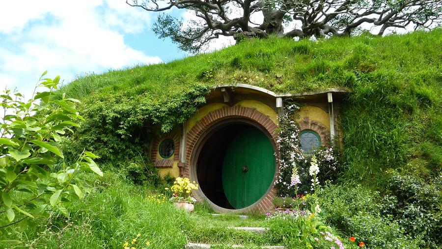 le porte circolari: elementi caratteristici delle casette degli hobbit