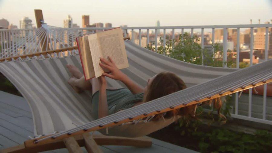 leggere in terrazza