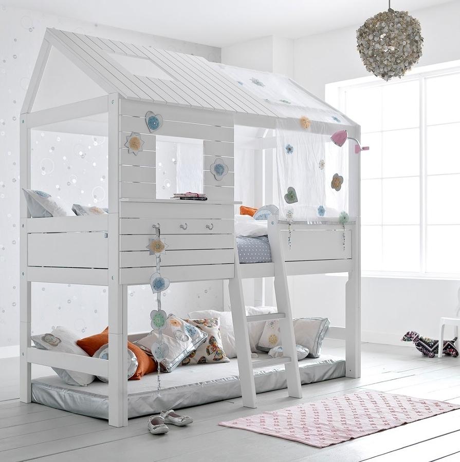 Poco spazio nella camera dei bambini i letti a castello for Planimetrie della camera a castello
