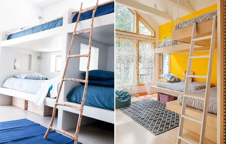Poco spazio nella camera dei bambini i letti a castello sono la soluzione idee interior designer - Letto a castello a tre ...