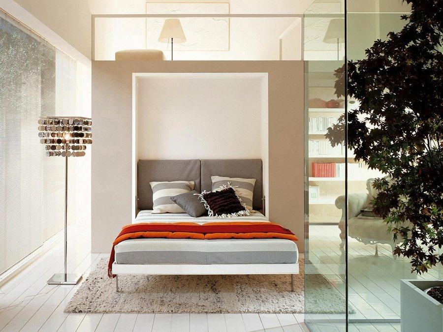 Letti ingegnosi per spazi ridotti idee interior designer - Letto richiudibile ...
