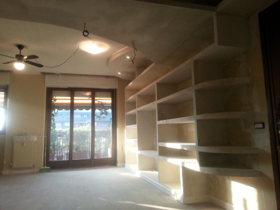 Librerie in cartongesso progetti ja46 regardsdefemmes - Prezzo parete in cartongesso ...