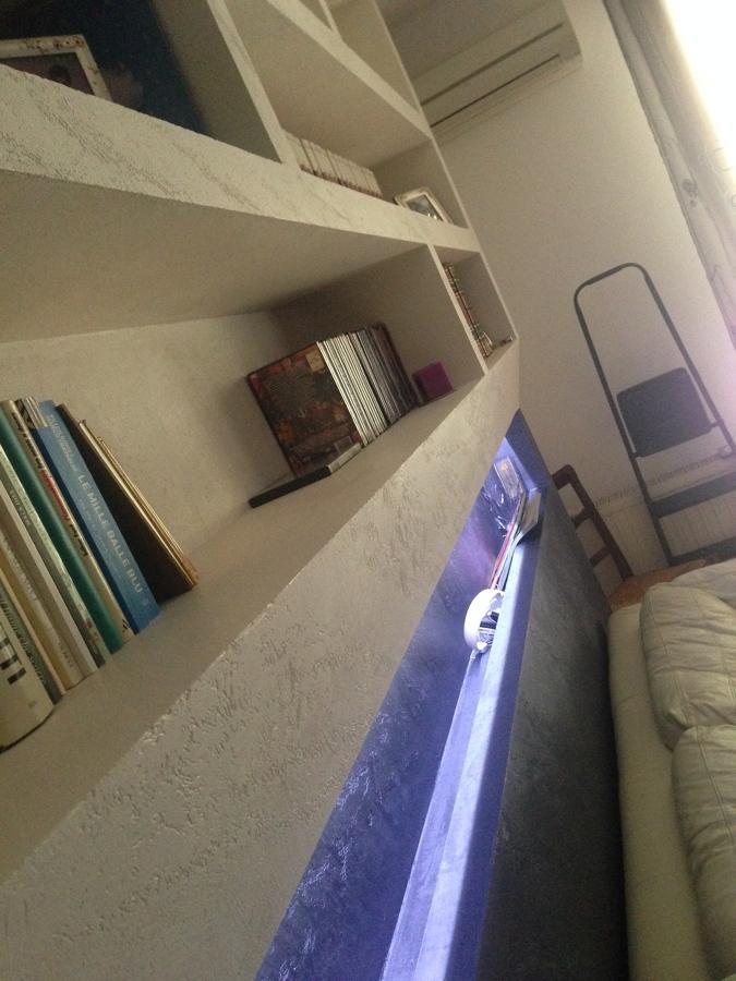 Progetto creazione di mobili in cartongesso idee cartongesso - Illuminazione led soggiorno ...