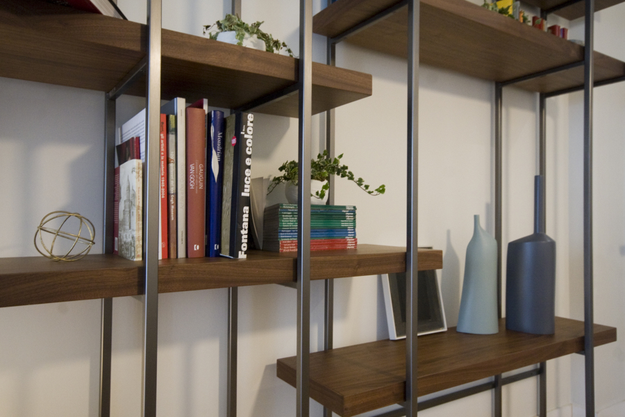 libreria su disegno