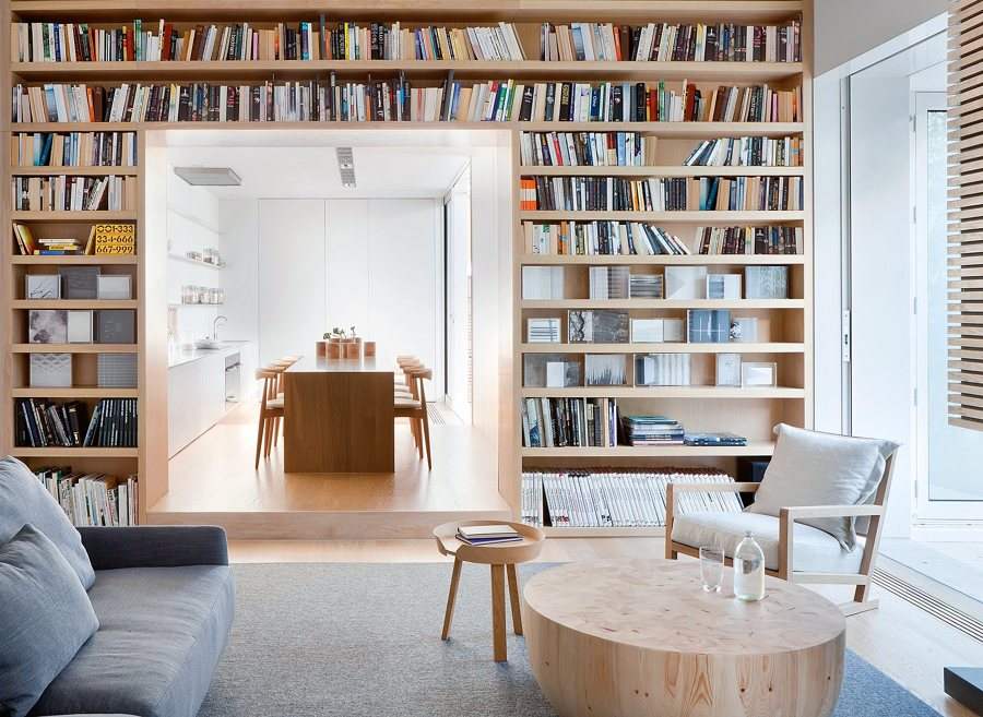 Foto libreria su misura in legno di rossella cristofaro for Aggiungendo una stanza al garage