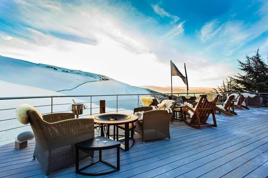 decorazione Montagna terrazza : Foto: Lodge Ski & Spa Terrazza di Francesco Esposito #358067 ...