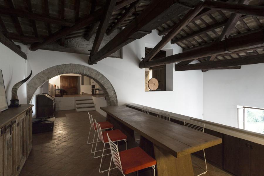 Loft in stile rustico