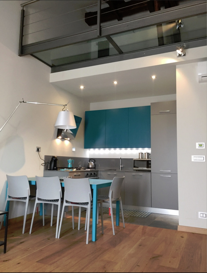 Foto loft soppalcato di architag studio architettura for Studio architettura interni torino