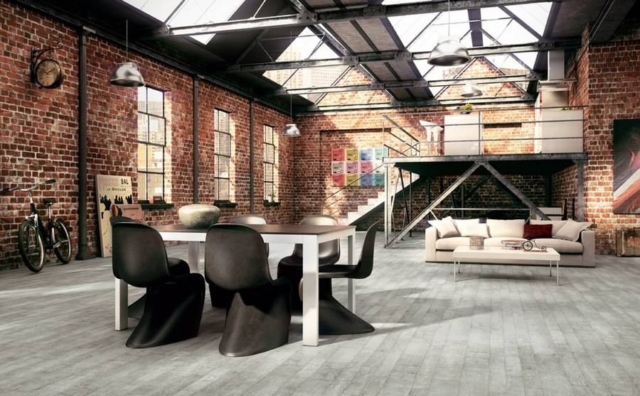 loft stile industriale