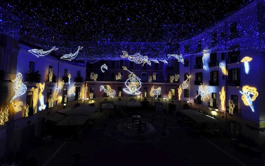 Luminarie di Natale più belle d'italia 4 salerno