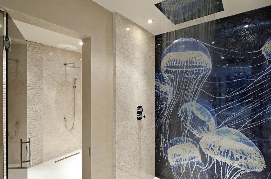 meduse in bagno