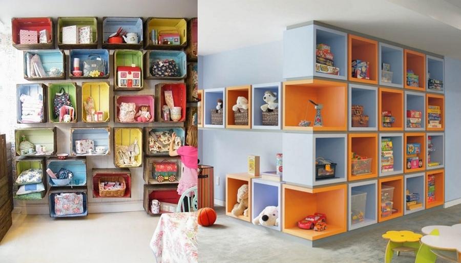 Foto mensole camera da letto dei bambini de valeria del - Mensole per camera bambini ...