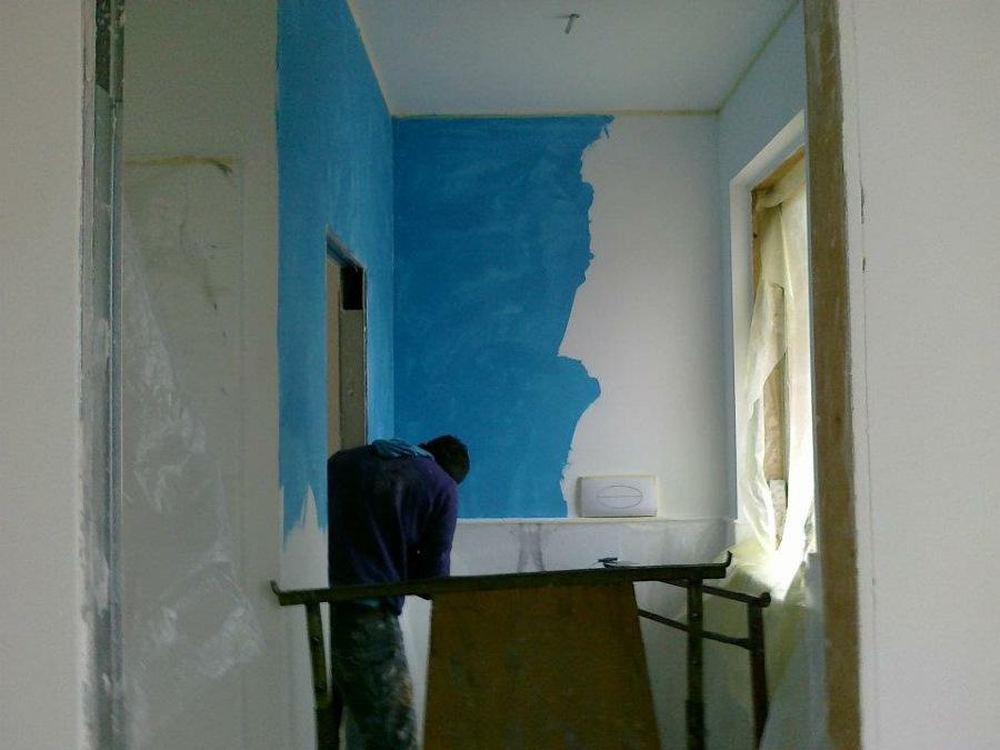 Foto: Mentre Realizziamo Stucco Veneziano Bagno di Lu.sa Srl #305684 ...