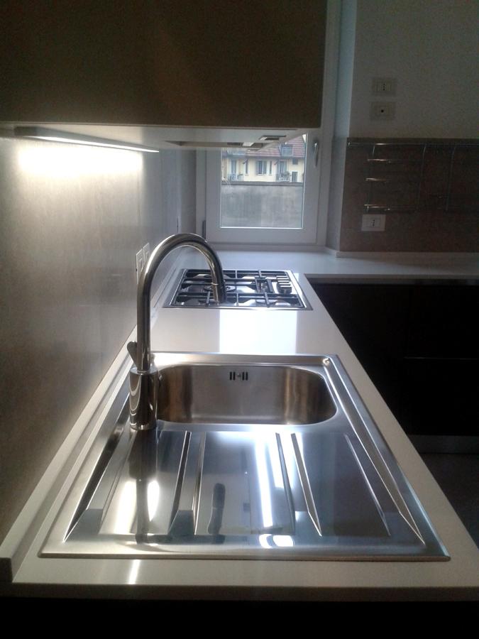 Appartamento d zona monumentale milano idee architetti - Quarzite piano cucina ...