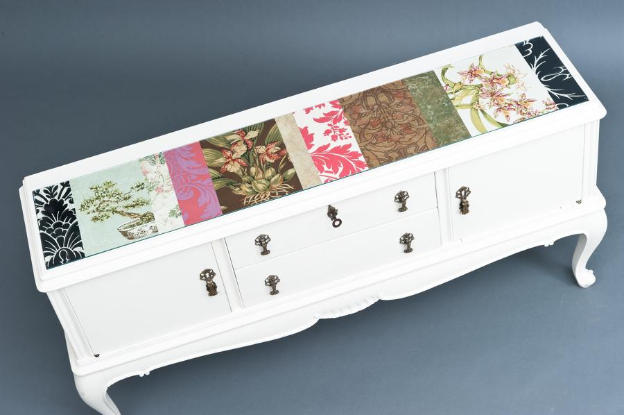 Arreda la tua casa con la carta idee articoli decorazione for Regalo mobili vecchi