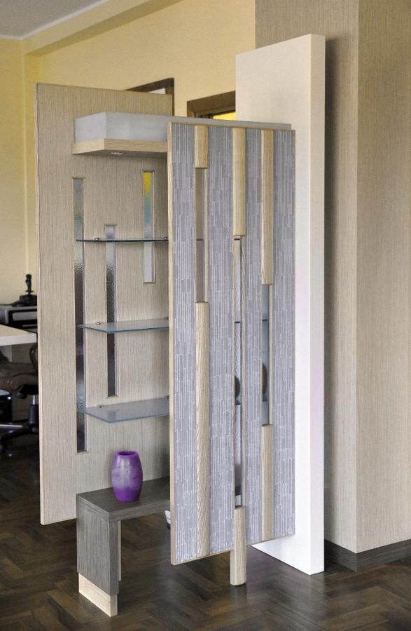 Progetti arredamento case cucine e bagni idee mobili - Mobili divisori per ingresso ...