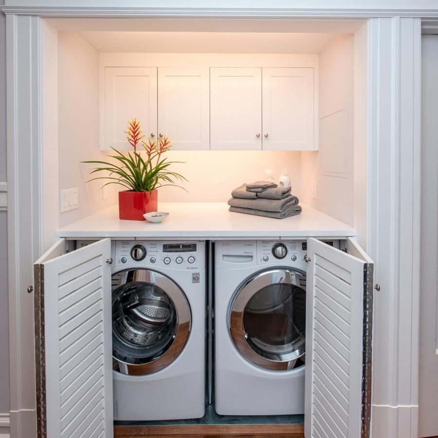 Foto mobile per lavatrice e asciugatrice di claudia loiacono 538872 habitissimo - Mobile lavatrice asciugatrice ...