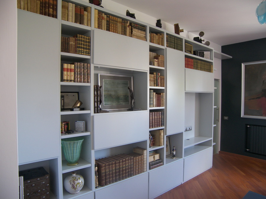 Librerie Moderne Per Soggiorno. Simple Modern Tv Wall Units ...
