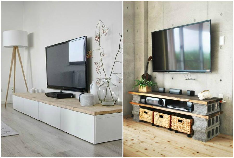Foto mobile tv di valeria del treste 330622 habitissimo - Mobile tv stile industriale ...
