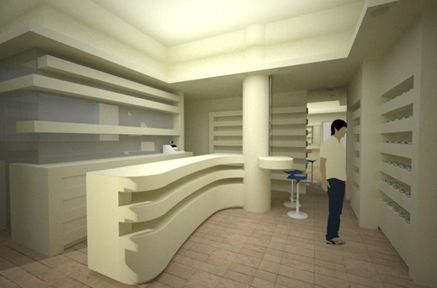 Progetto per un negozio di ottica ad anzio idee - Modello preventivo ristrutturazione casa ...