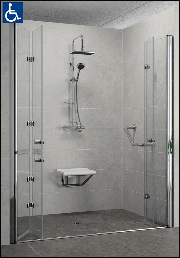 Progetto doccia per disabili idee ristrutturazione bagni - Ristrutturazione bagno disabili agevolazioni ...