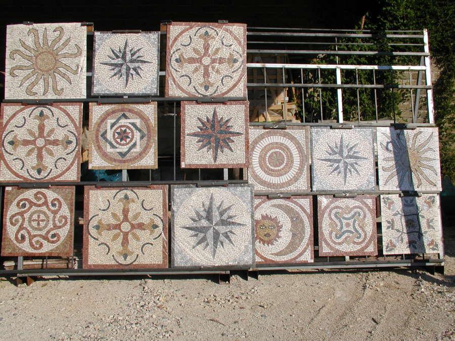 mosaici per pavimentazioni