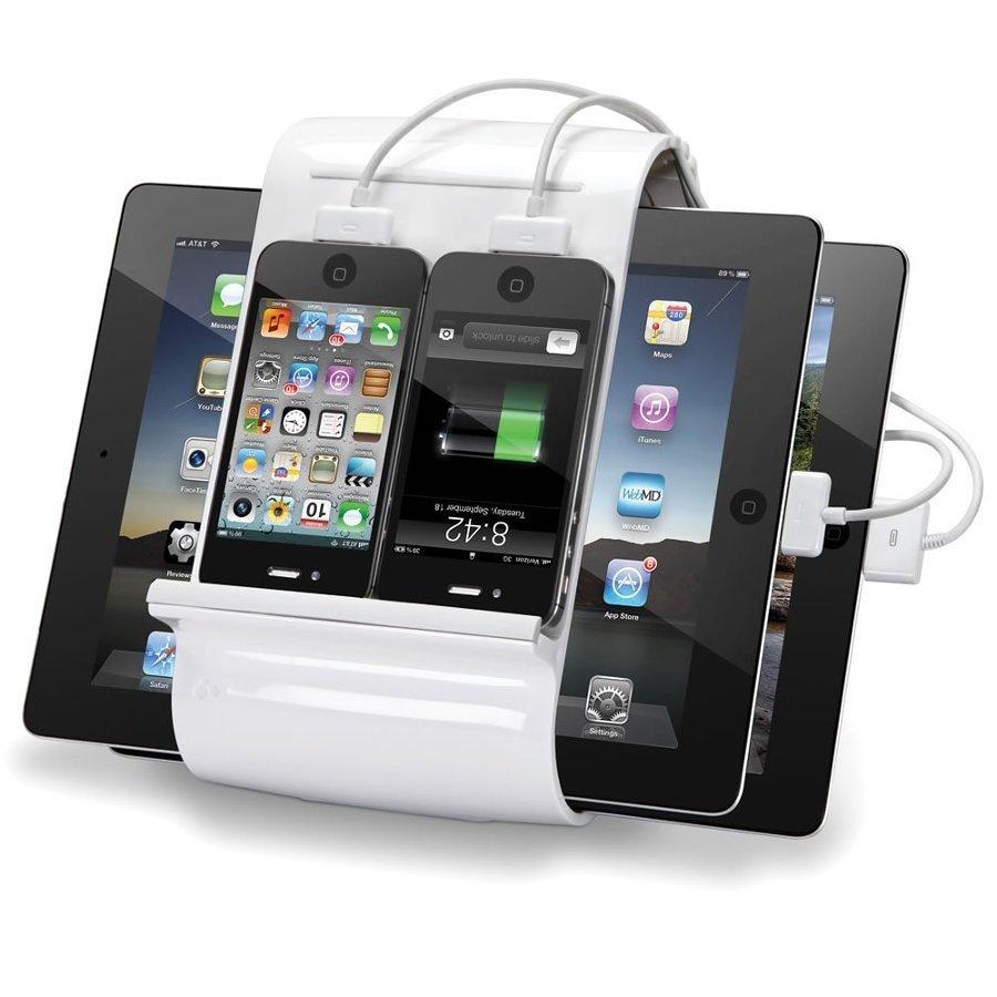 multi caricatore tablet e cellulari 334736 10 e più accessori fantasiosi per iPhone 4, 5, 6 e iPad