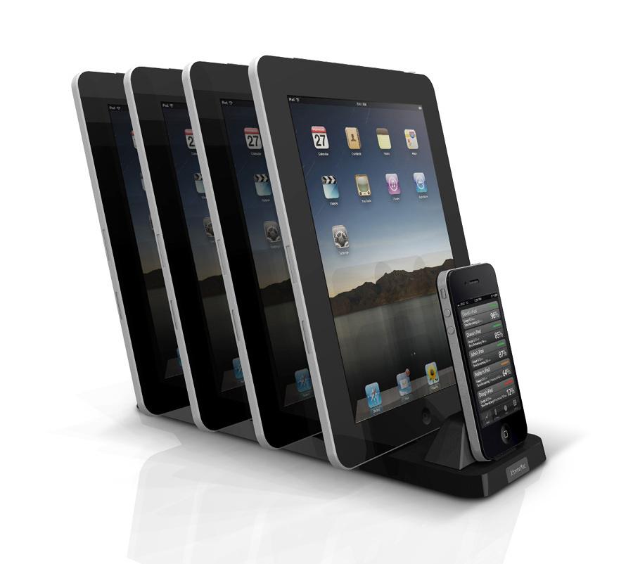 multi caricatore tablet e cellulari 334737 10 e più accessori fantasiosi per iPhone 4, 5, 6 e iPad