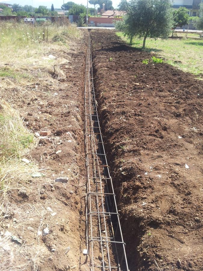 Progetto realizazione muro di recinzione idee architetti for Staccionata dwg
