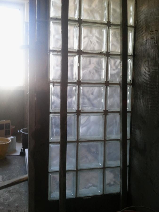 Foto muro vetrocemento su piatto doccia di lanzo andrea - Box doccia vetrocemento ...