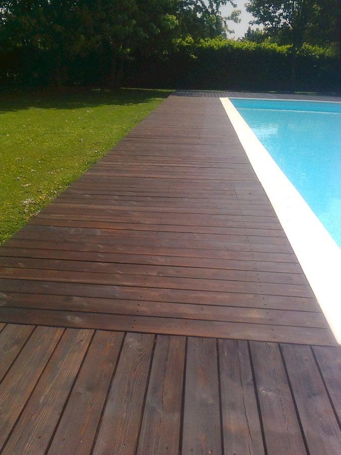 Progetto realizzazione bordo piscina idee for Bordo piscina legno