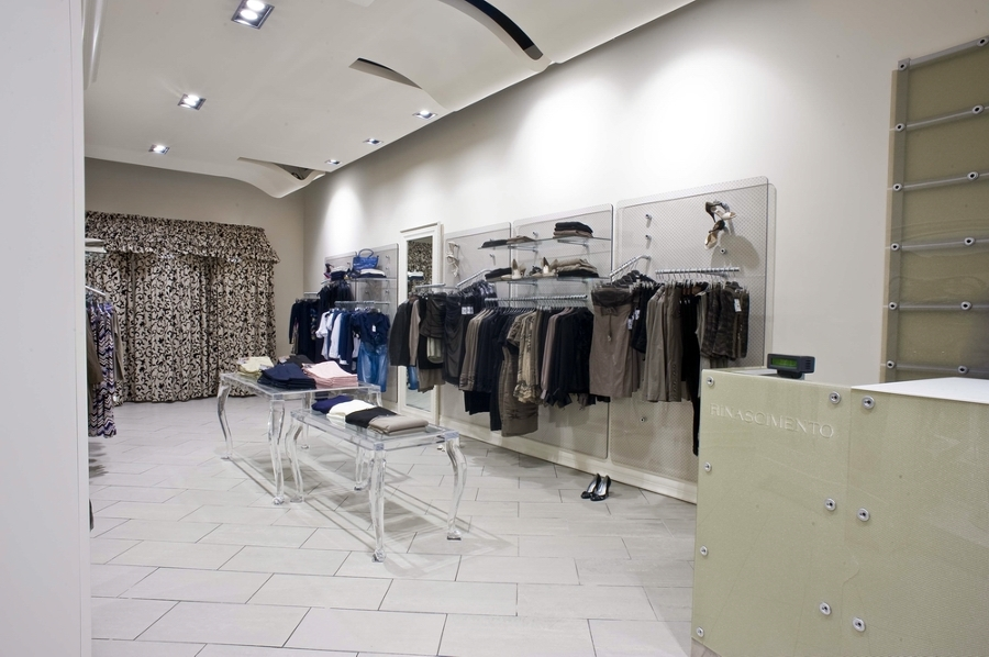 progetto design negozi rinascimento idee interior designer