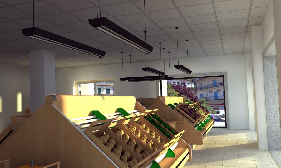 Foto negozio frutta e verdura di bridge studio tecnico di for Arredamento frutta e verdura