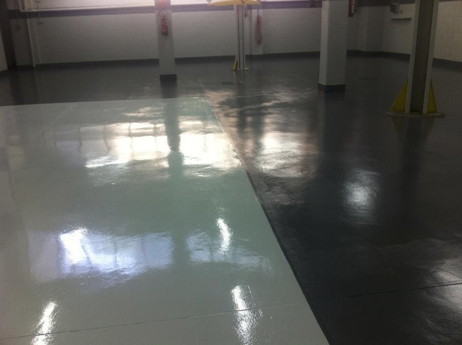 Nuova pavimentazione in resina poliuretanica