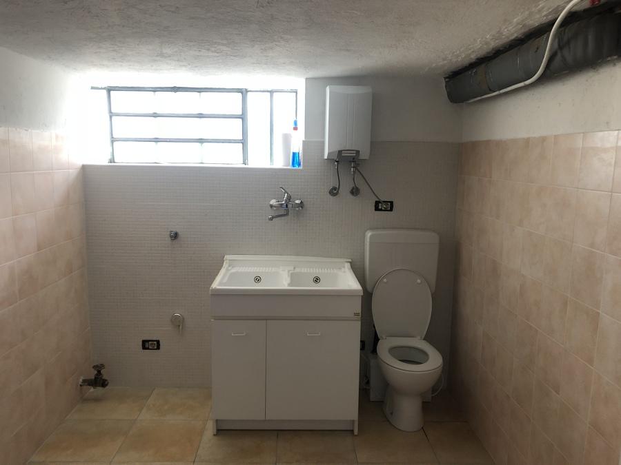 Nuovo bagno-lavanderia
