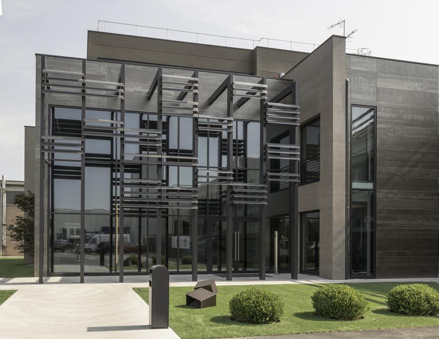 nuovo edificio uffici
