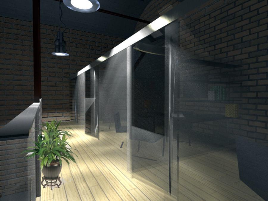 Progetto per nuova idea idee ristrutturazione uffici for Capannone moderno