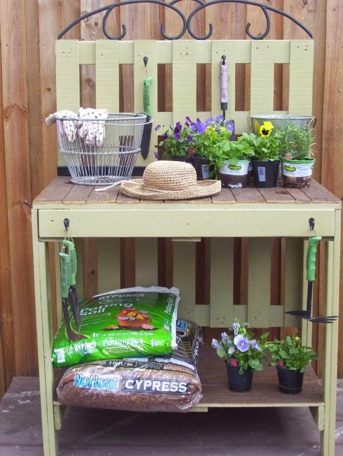 tavoli da giardino idee originali pallet : Originali con i Pallet Dedicate Agli Amanti del Bricolage Idee ...