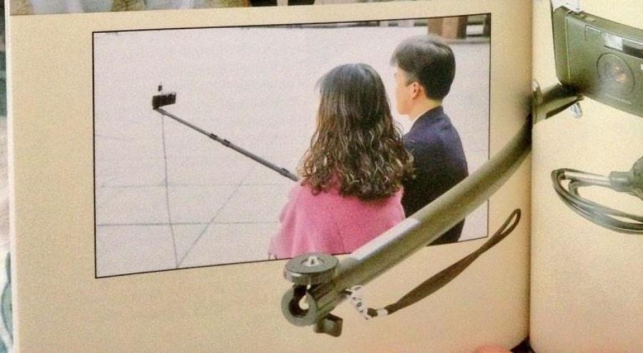 palo per i 'selfie'
