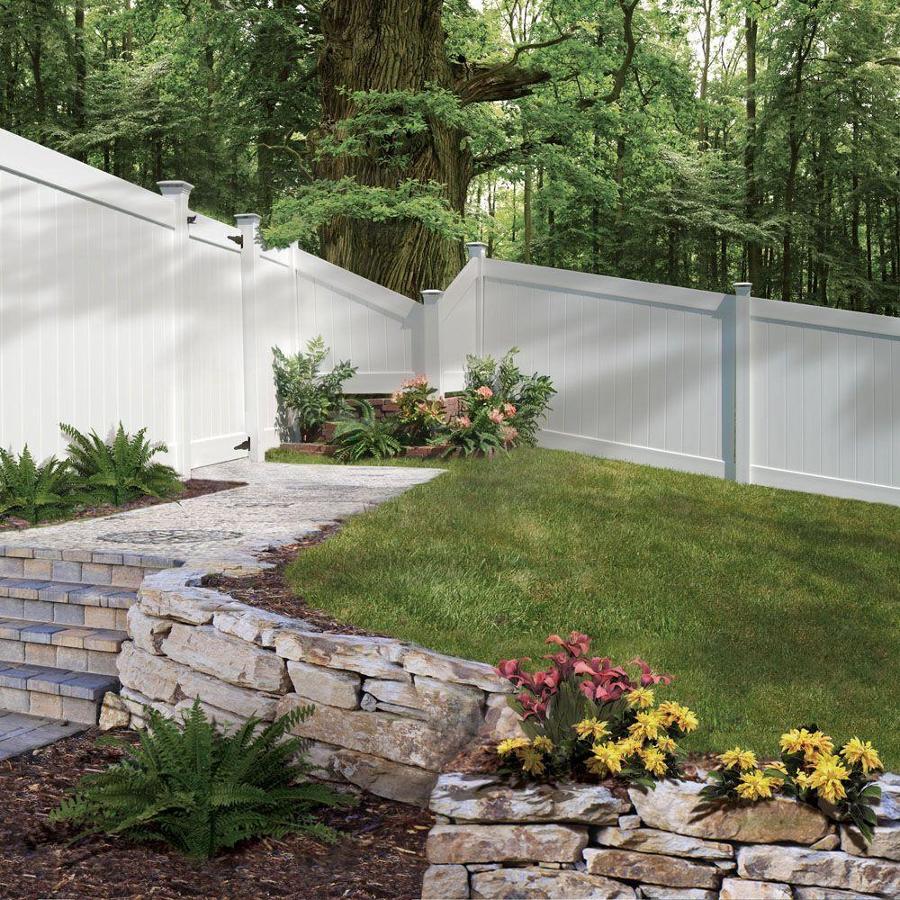 Pannelli in pvc per recinzioni
