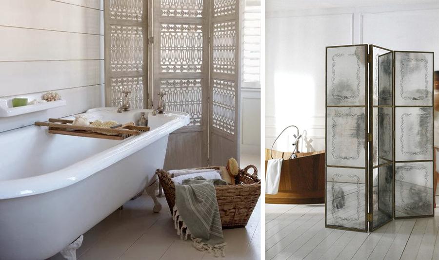 Foto paravento in bagno di rossella cristofaro 363474 habitissimo - Pannelli decorativi ikea ...