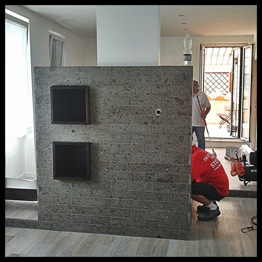Proggetto relalizzazione parete attrezzata idee - Idee parete attrezzata ...