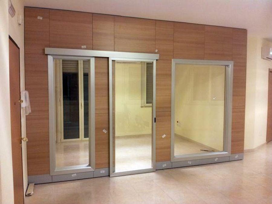 Progetto costruzione pareti mobili divisorie idee mobili - Parete mobile in cartongesso ...