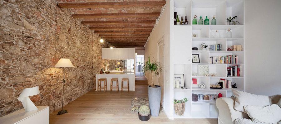 Passione per la pietra idee interior designer - Parete in pietra per interni ...