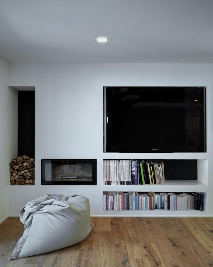 Foto parete soggiorno di rossella cristofaro 365769 for Parete soggiorno cartongesso