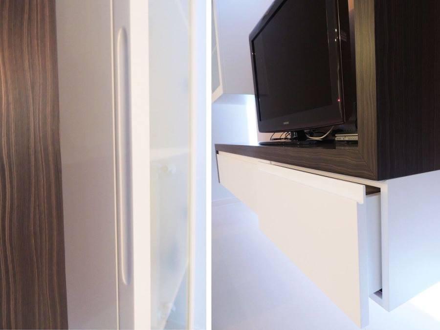 Rimodellazione casa idee interior designer for Mensola tamburata