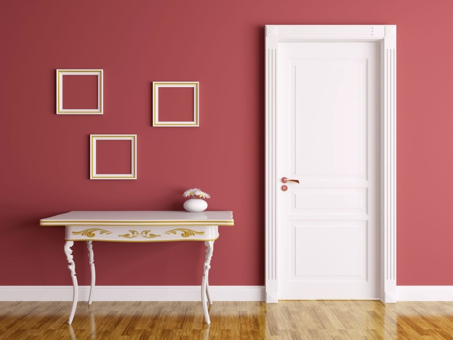 Riproporziona lo spazio delle tue stanza con i colori for Pareti colorate particolari