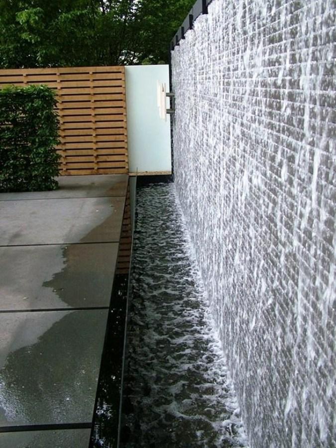 pareti d'acqua